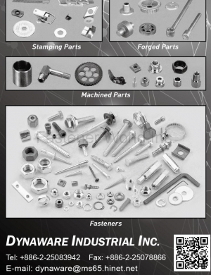 Stamping Parts, Forged Parts, Machined Parts, Fasteners