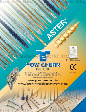 Aster Screw for Wood Working, Furniture, Construction