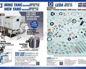 Washer, Precision Stamping Sems Screws, Multi-station Screws