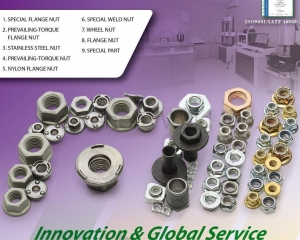 Flange Nuts, Prevailing-Torque Flange Nuts, Stainless Steel Nuts, Nylon Flange Nuts, Special Parts(FONG WUNS CO., LTD. )