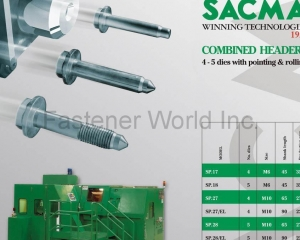 Combined Headers (4-5 dies with pointing & rolling)(SACMA LIMBIATE S.P.A.)